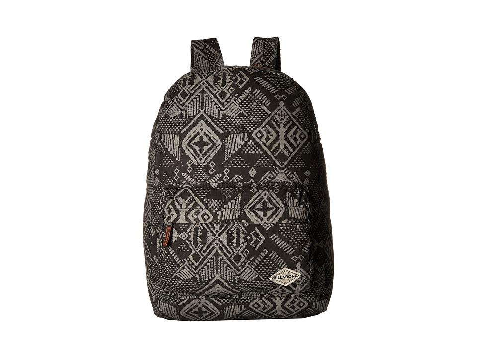 Billabong - Hand Over Love Backpack (Off-Black) Backpack Bags