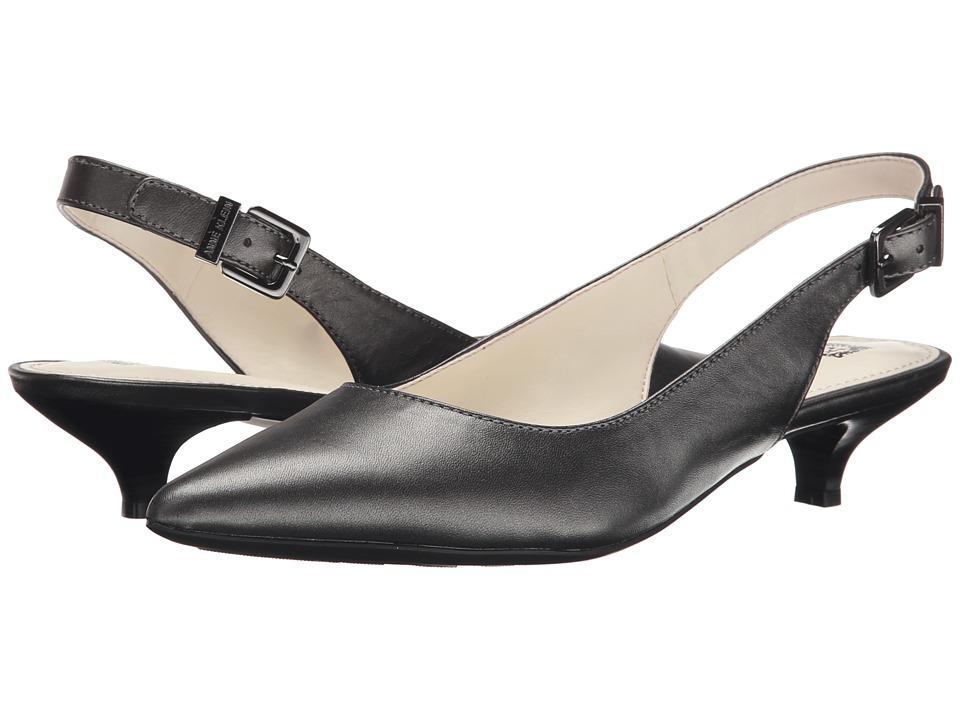 Anne Klein Expert (Dark Pewter Leather) Women