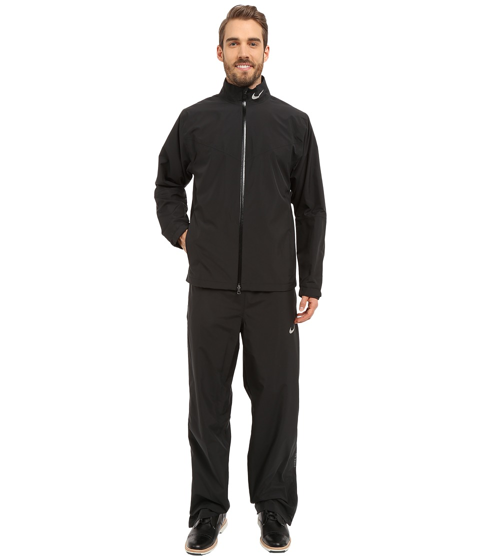 Nike Golf - Storm-FIT Rainsuit (Black/Black/Reflective Si...