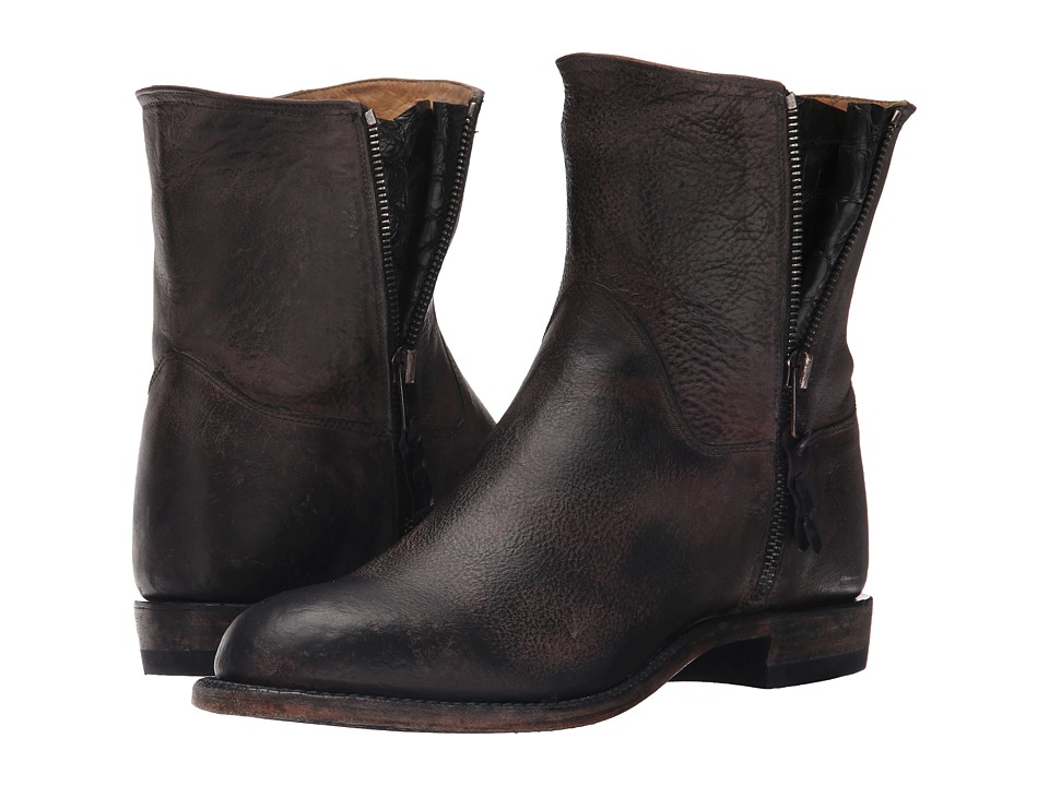 Lucchese - Harper (Black) Cowboy Boots