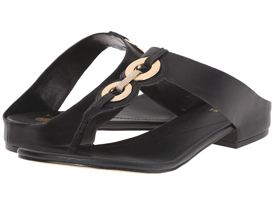 Isola Sabrina Black Lucky Calf Womens Sandals
