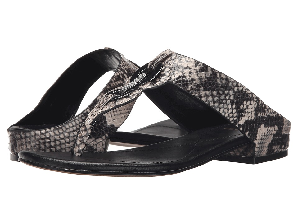 Isola Sabrina Grey Snake Print Womens Sandals