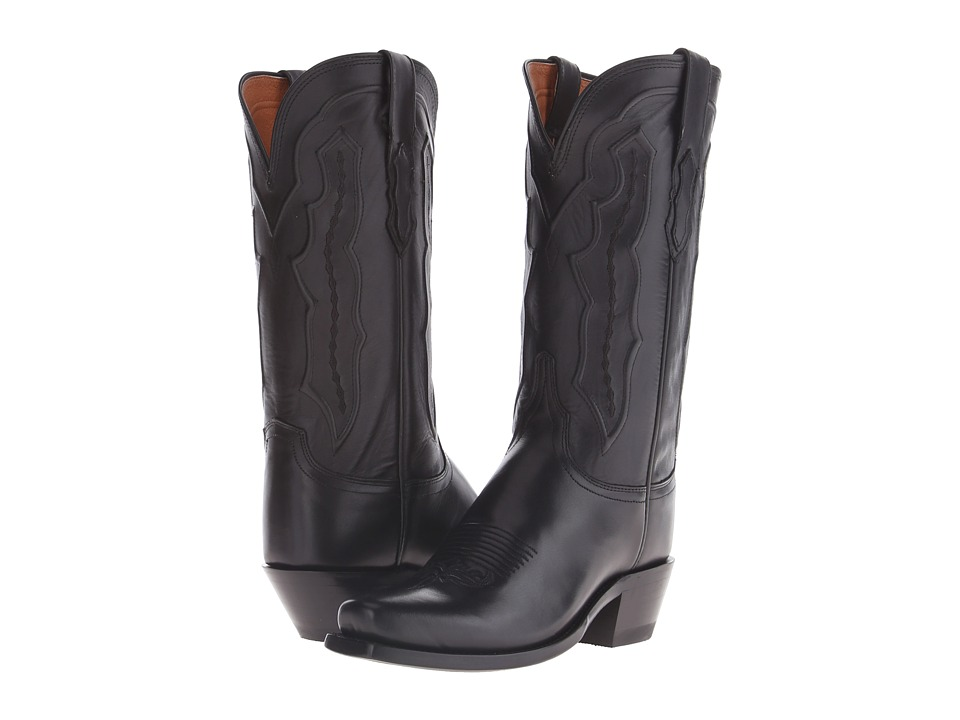 Lucchese - Grace (Black) Cowboy Boots