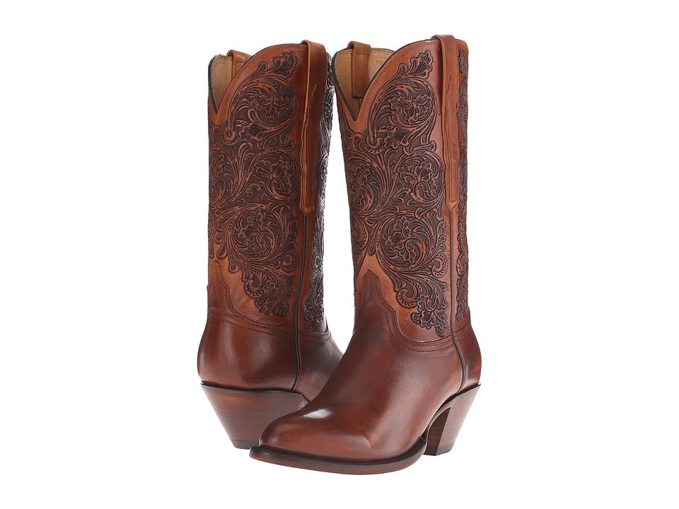 Lucchese - Erin (Cognac) Cowboy Boots