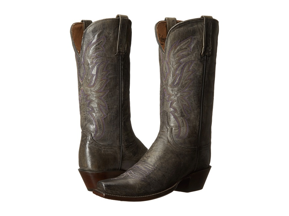 Lucchese - Mabel (Anthracite Grey) Cowboy Boots