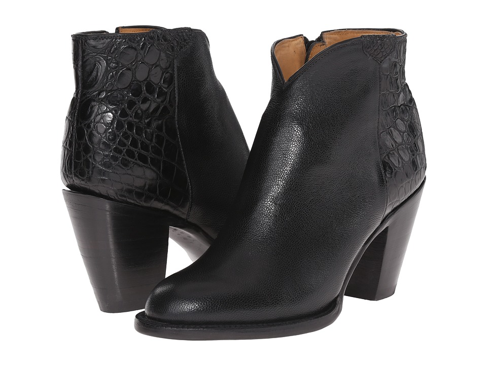 Lucchese - Jenna (Black) Cowboy Boots