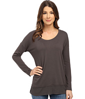Splendid - Cozy Jersey with Feather Rib Long Sleeve