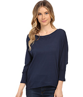 Splendid - Very Light Jersey with Thermal Dolman