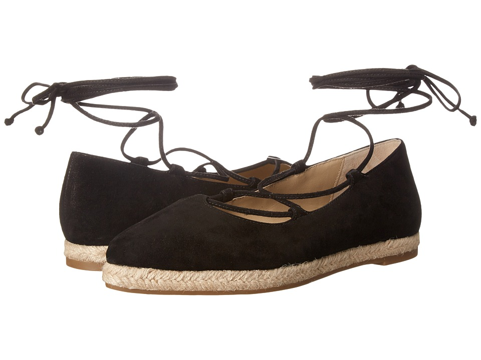 Michael Kors - Cadence (Black Kid Suede/Jute) Women