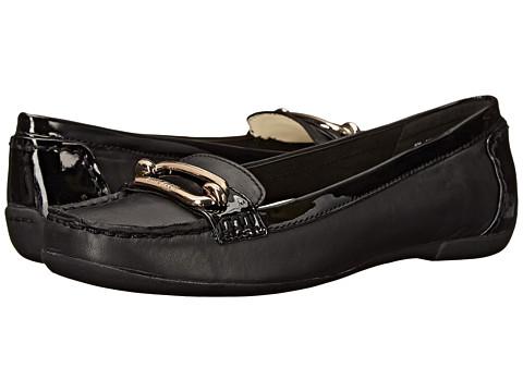 Anne Klein Noris - Black/Black Leather