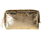 Lilly Pulitzer PB Cosmetic Case Large (Gold Metallic)