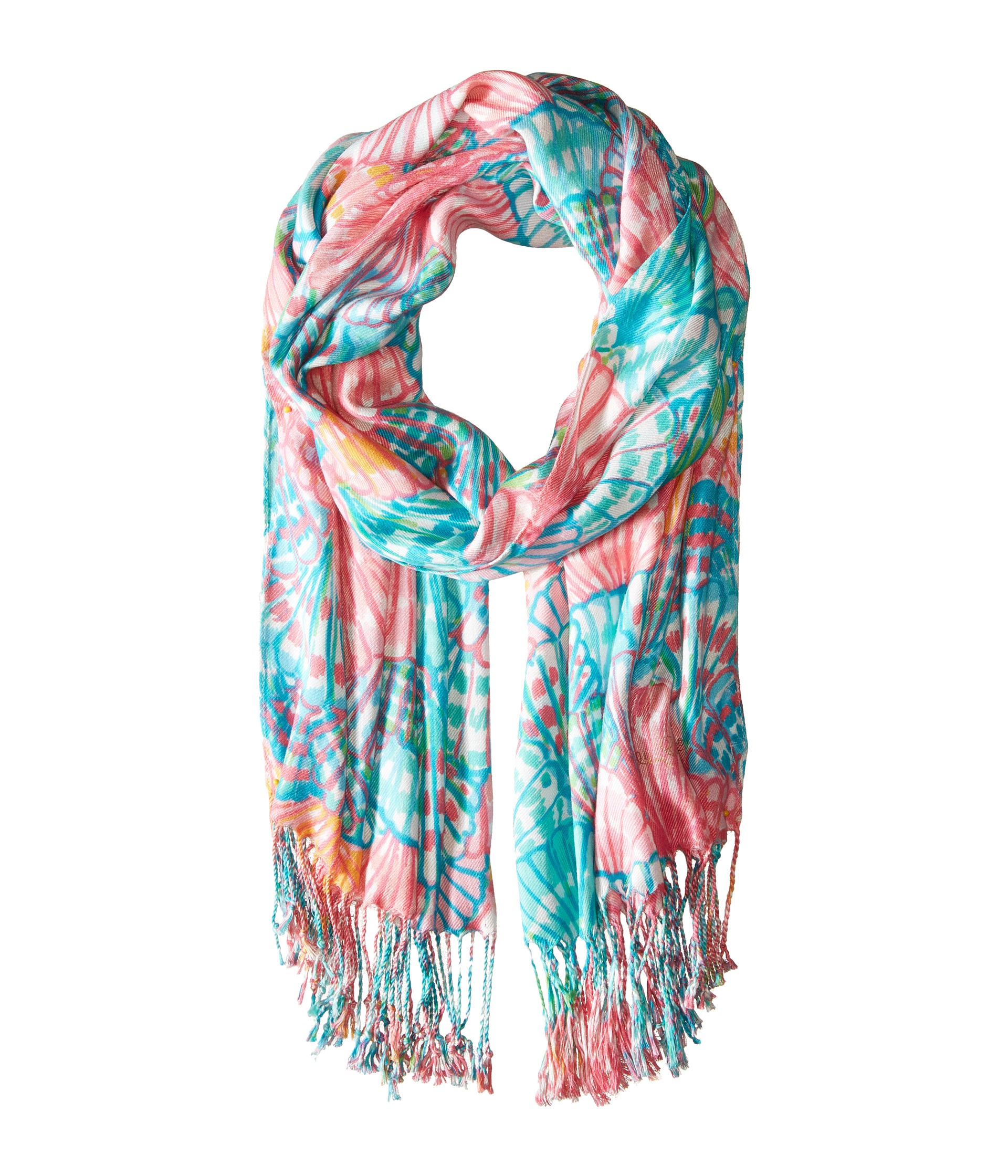 lilly pulitzer the lilly scarf multi oh shello scarf