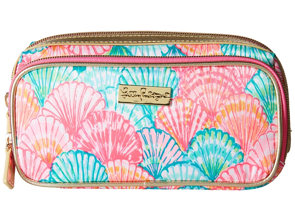 Lilly Pulitzer - Make It Cosmetic Case (Multi Oh Shello) Cosmetic Case