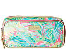 Lilly Pulitzer Make It Cosmetic Case (Tropical Pink Tropical Storm)