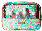 Lilly Pulitzer On Board Dopp Kit (Tropical Pink Tropical Storm)
