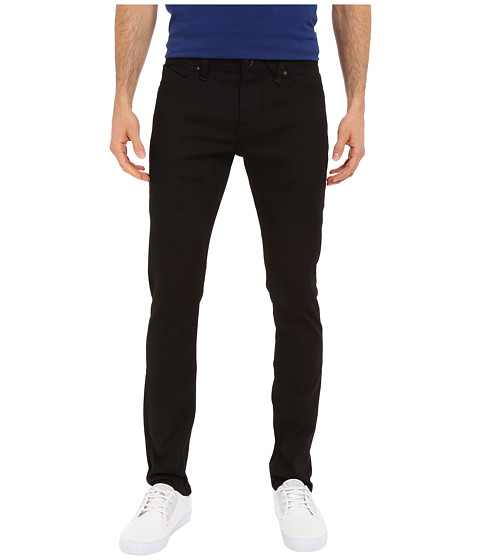 Volcom 2X4 Skinny Fit Denim - Black On Black