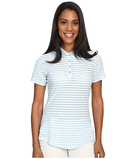 adidas Golf Cottonhand Stripe Polo