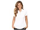 adidas Golf Puremotion Short Sleeve Top (White)
