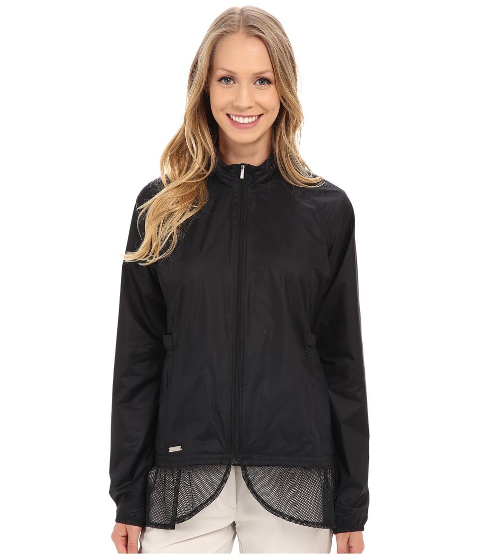 adidas Golf Advance Wind Jacket Black Womens Coat