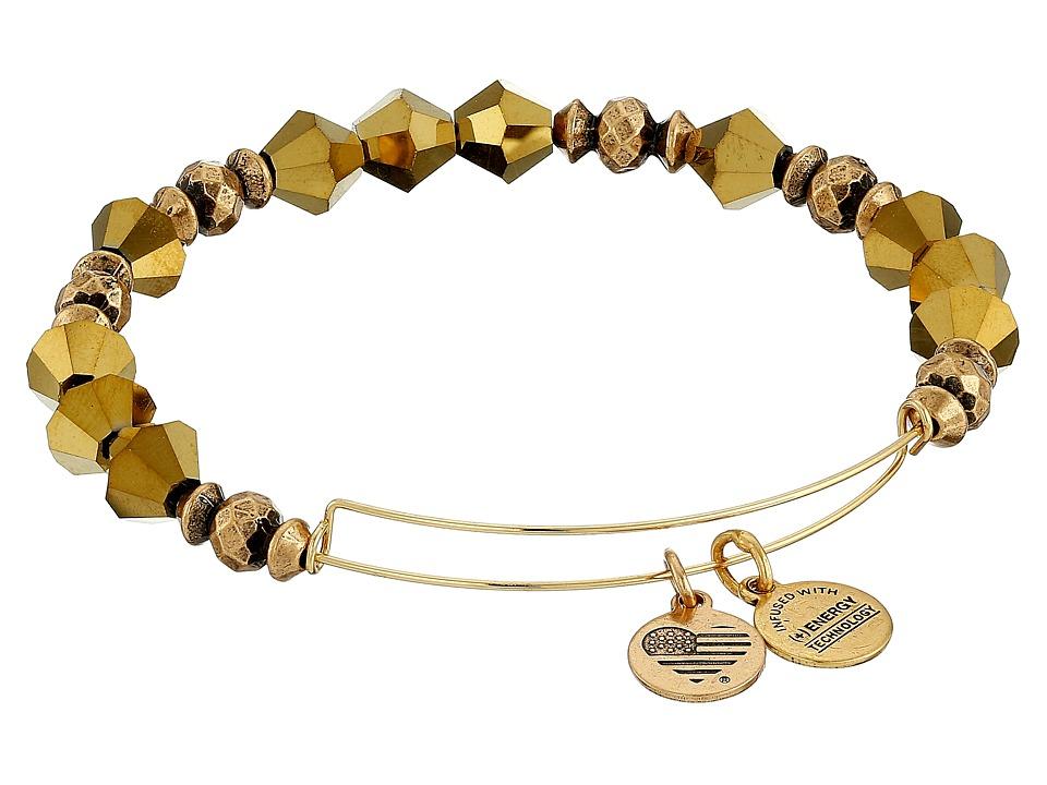 Alex and Ani Retro Glam Wonder Expandable Bracelet Golden Luster Bracelet