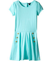 Tommy Hilfiger Kids - Pique Short Sleeve Dress (Big Kid)