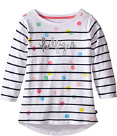 Tommy Hilfiger Kids - Stripe Hilfiger Long Sleeve Top (Big Kid)