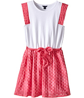 Tommy Hilfiger Kids - Burn Out Voile and Jersey Dress (Big Kid)