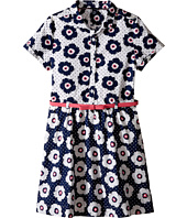 Tommy Hilfiger Kids - Printed Flower Woven Dress (Big Kid)