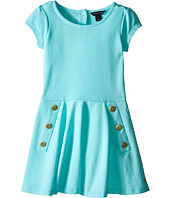 Tommy Hilfiger Kids - Pique Short Sleeve Dress (Little Kid)