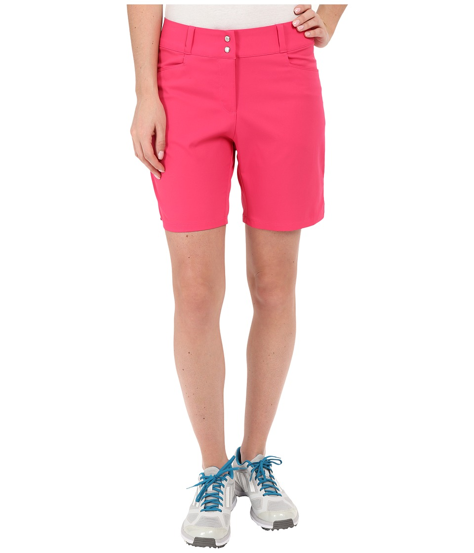 adidas Golf Essential Shorts 7 Raspberry Rose Womens Shorts