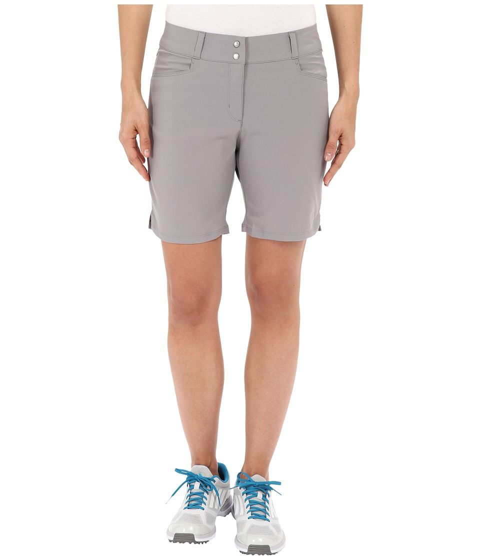 adidas Golf Essential Shorts 7 Charcoal Solid Grey Womens Shorts