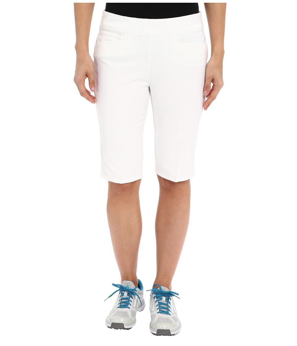 adidas Golf adiStar Bermuda Shorts White Womens Shorts