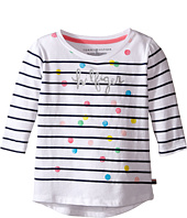 Tommy Hilfiger Kids - Stripe Hilfiger Long Sleeve Top (Little Kid)
