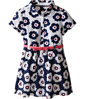 Tommy Hilfiger Kids - Printed Flower Woven Dress (Little Kid)