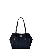 Brighton - Lara Double Zip Medium Tote