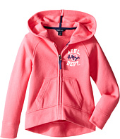 Tommy Hilfiger Kids - Pull Over Fleece Hoodie (Little Kid)