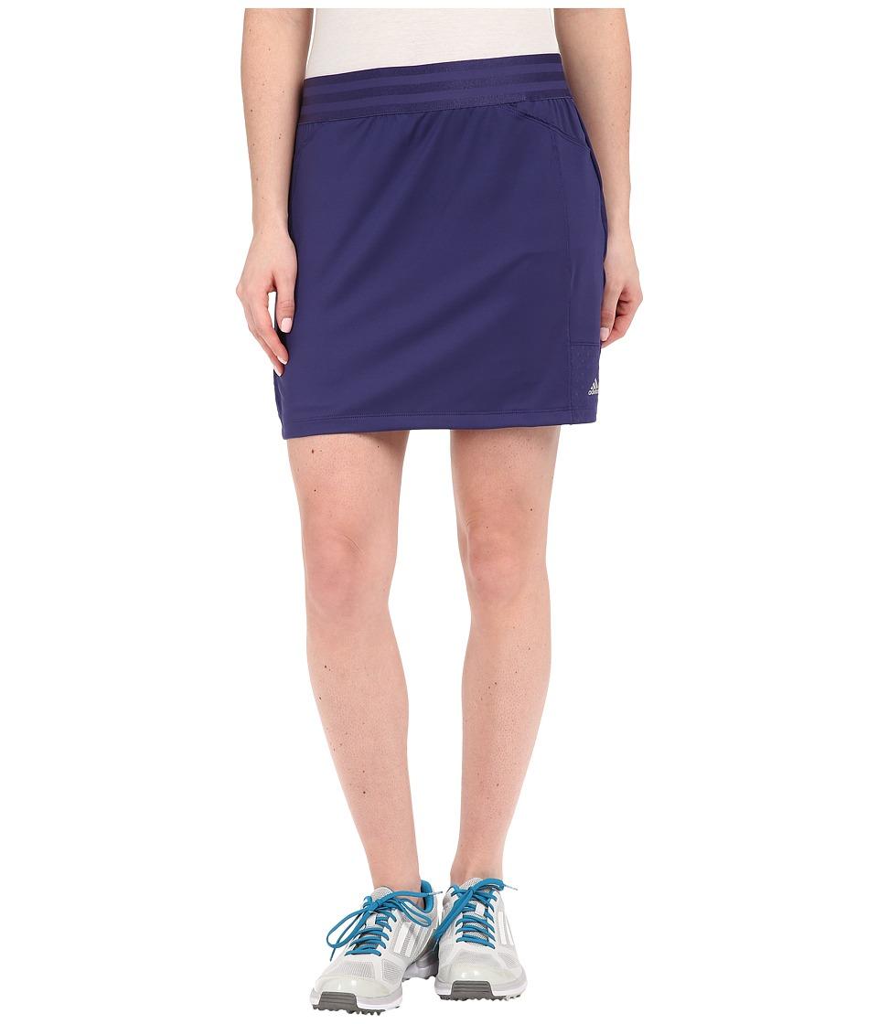 adidas Golf adiStar Rangewear Skort Deep Blue Womens Skort