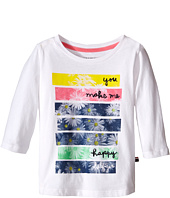 Tommy Hilfiger Kids - Printed 3/4 Sleeve Top (Little Kid)