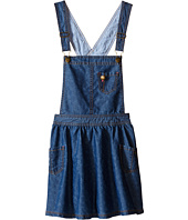 Tommy Hilfiger Kids - Denim Overall Dress (Big Kid)