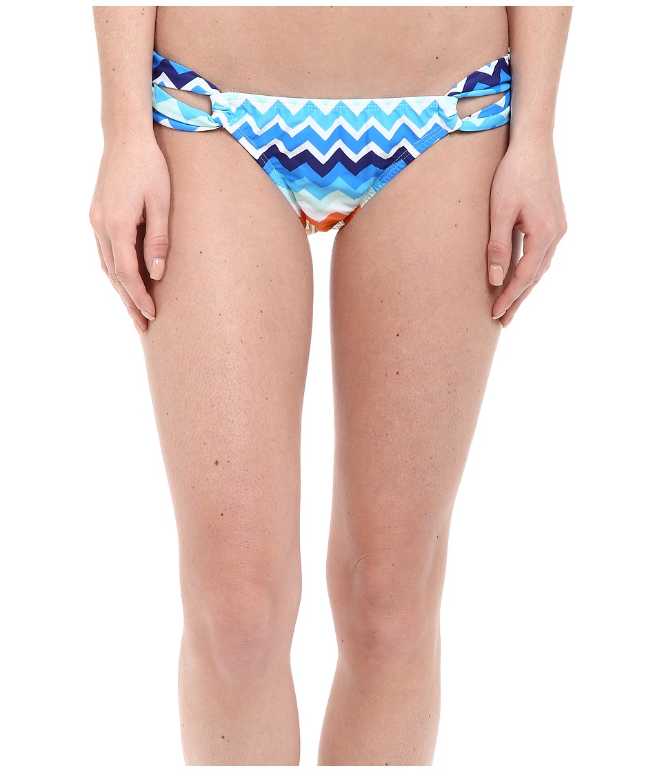 Shoshanna Laguna Loop Bottoms Blue Multi Womens Swimwear