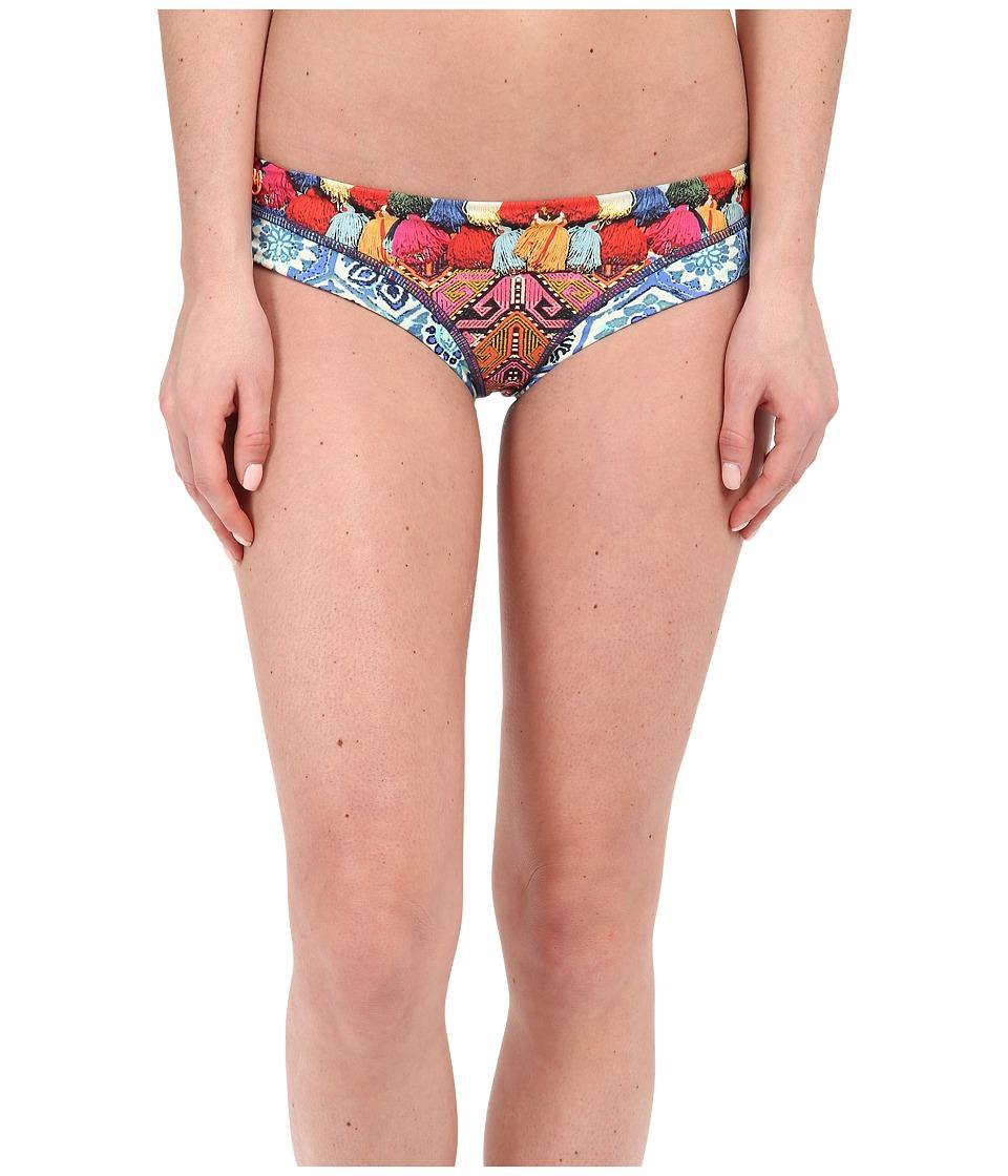Maaji Tassles Tiles Signature Cut Bottom Multi Womens Swimwear