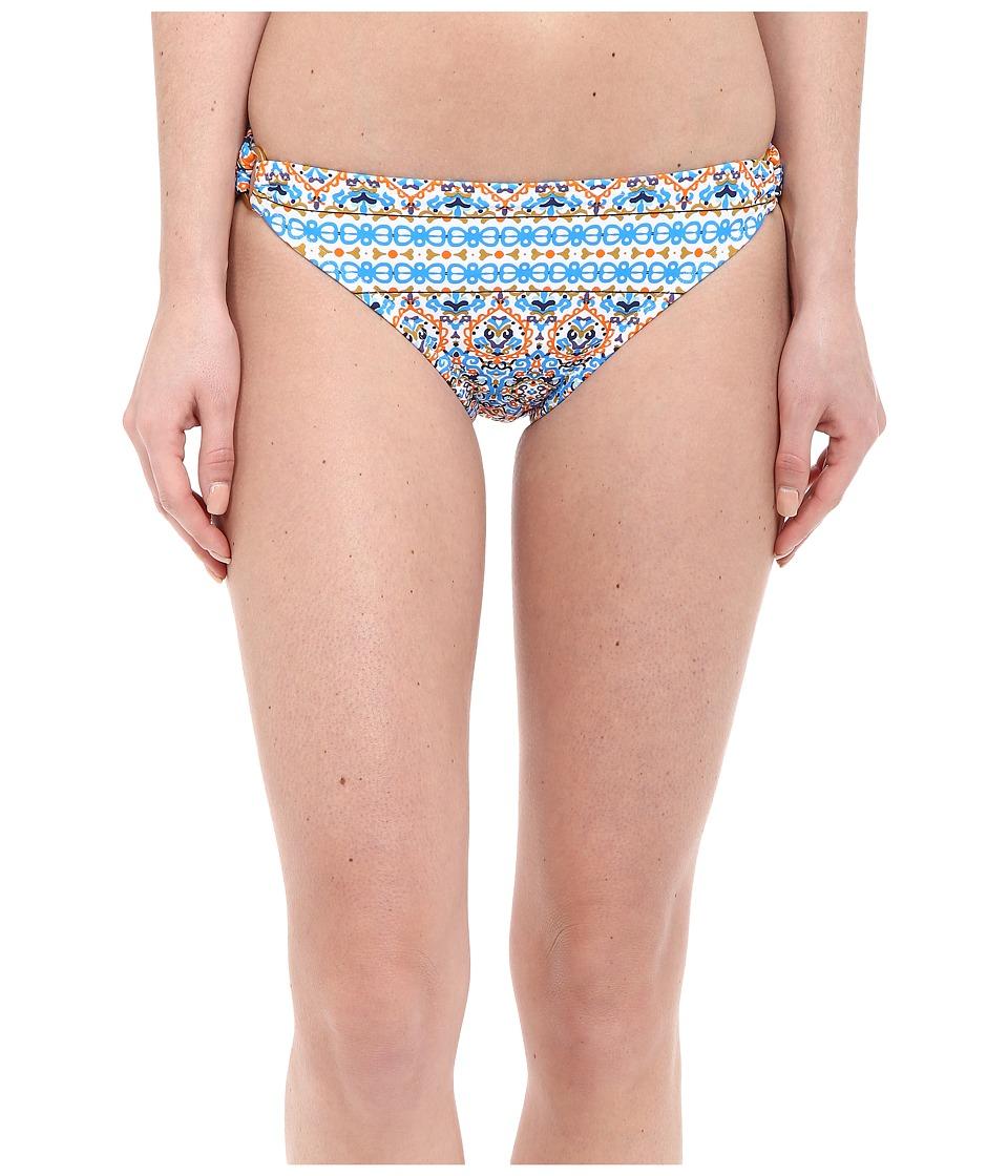 Shoshanna Boho Medallion Ring Bottoms Papaya Womens Swimwear