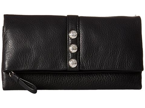 Brighton Nolita Shimmer Large Wallet - Black