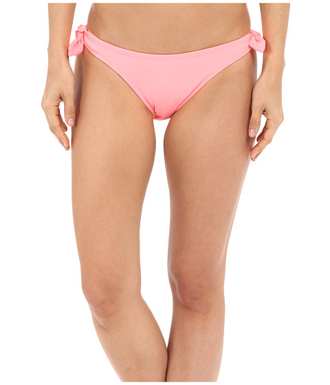 Shoshanna Watermelon Solid Bow Bottoms