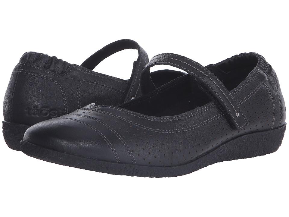 taos Footwear Transit Black Womens Shoes