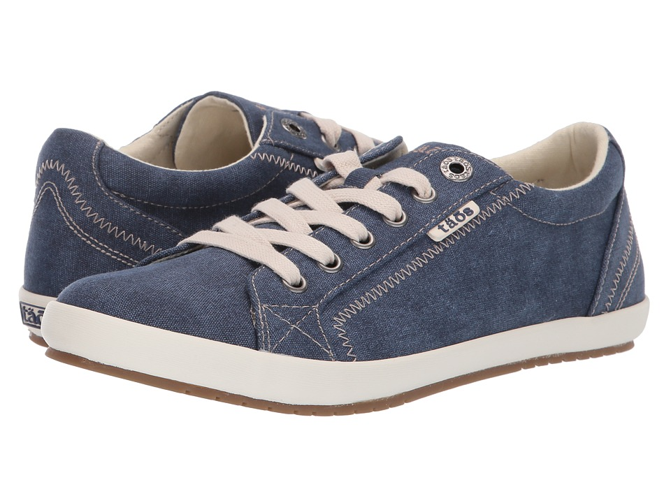 Taos Footwear Star (Blue Washed Canvas) Women