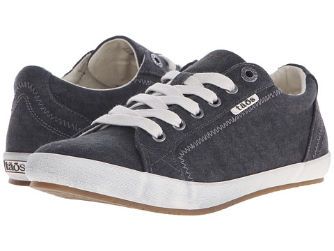 Taos Footwear Star - Charcoal Washed Canvas