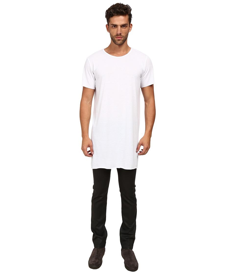 MISANTHROPE Basic Tee White Mens Clothing
