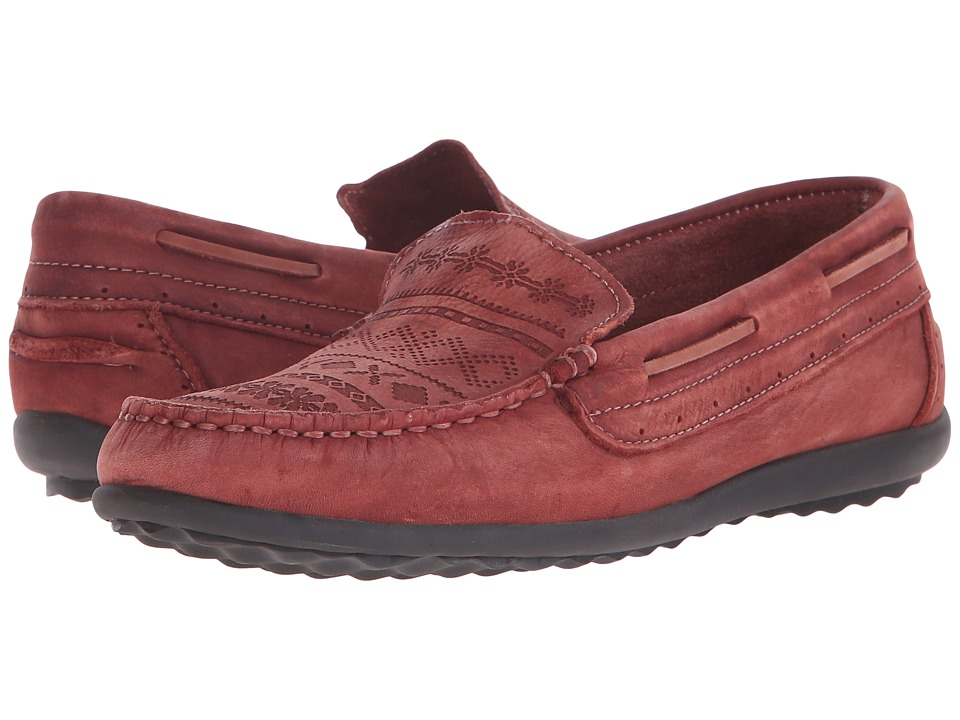 taos Footwear Heritage Spice Red Womens Shoes