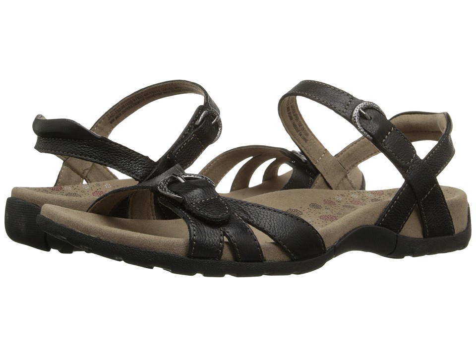 taos Footwear Jackpot Black Womens Sandals